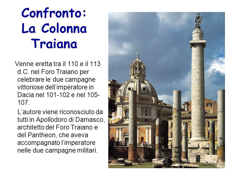 Confronto: La Colonna Traiana