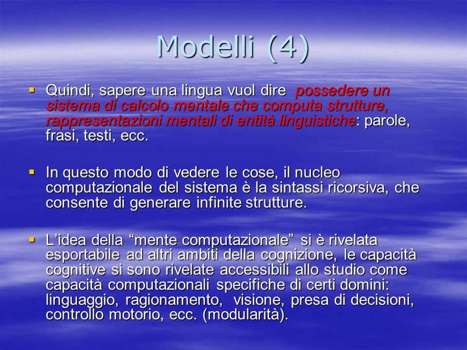 Modelli (4)