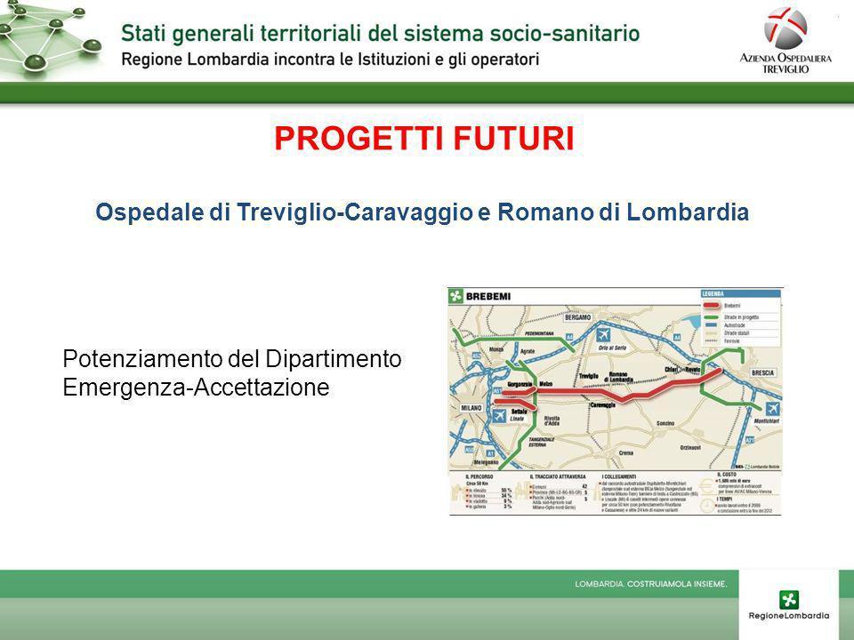 PROGETTI FUTURI Ospedale di Treviglio-Caravaggio e Romano di Lombardia