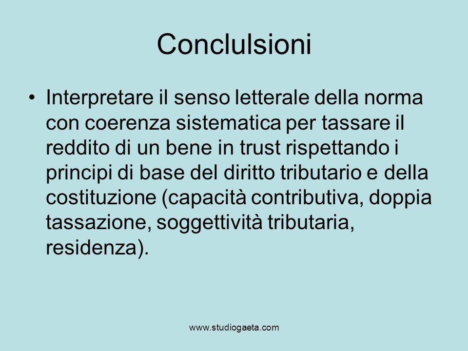 Conclulsioni