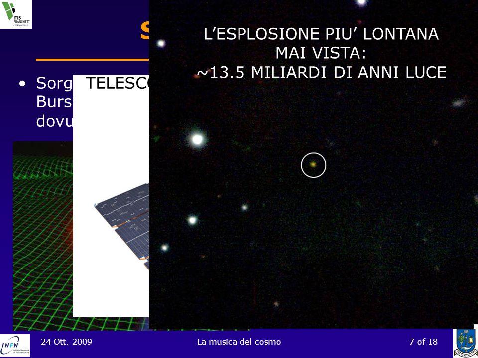 L'ESPLOSIONE PIU' LONTANA MAI VISTA: ~13.5 MILIARDI DI ANNI LUCE
