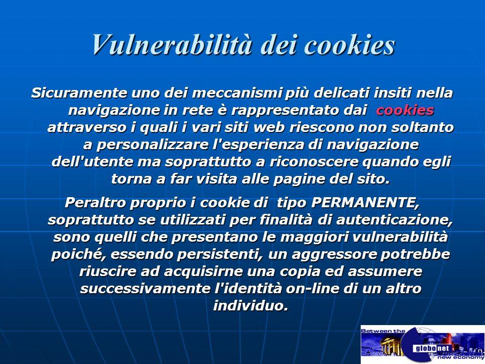 Vulnerabilità dei cookies
