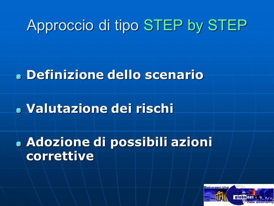 Approccio di tipo STEP by STEP