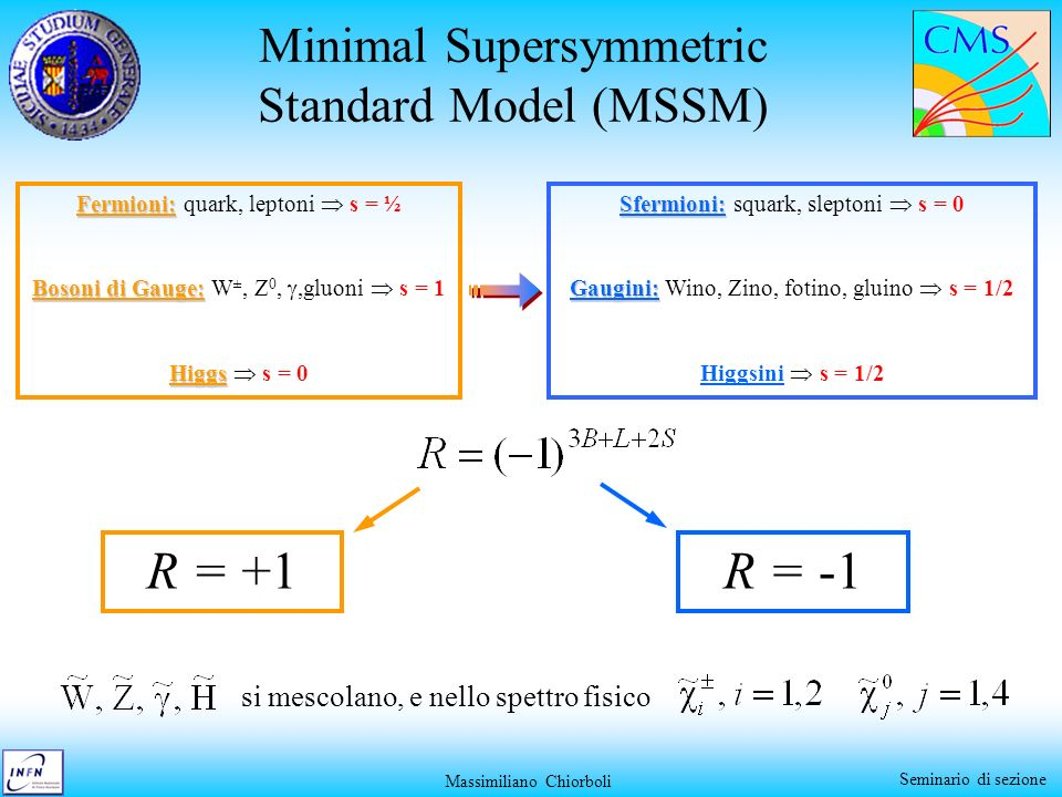 Minimal Supersymmetric Standard Model (MSSM)