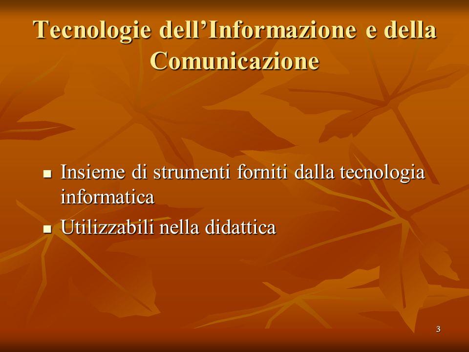 Tecnologie dell'Informazione e della Comunicazione
