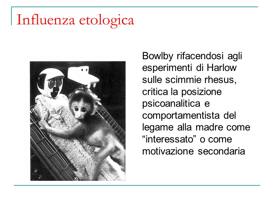 Influenza etologica