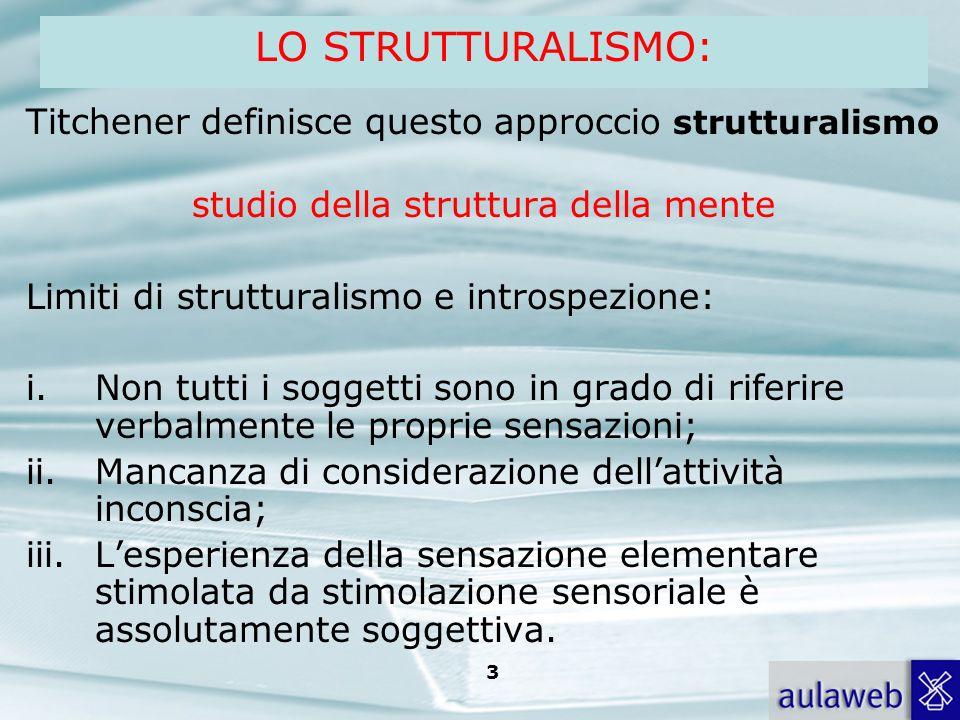 studio della struttura della mente