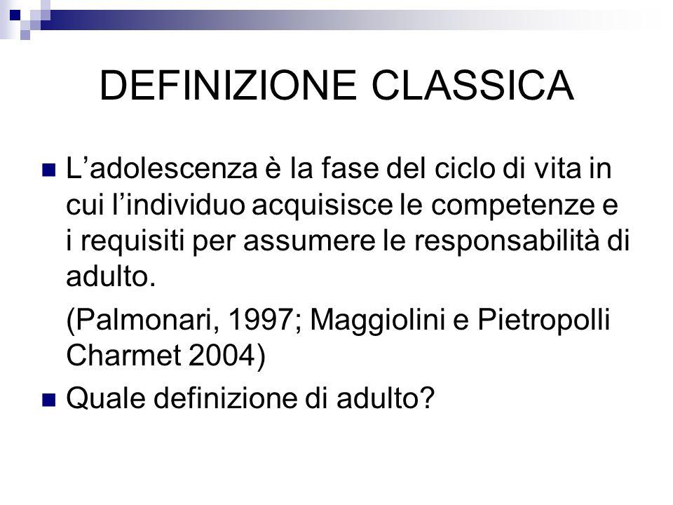 DEFINIZIONE CLASSICA