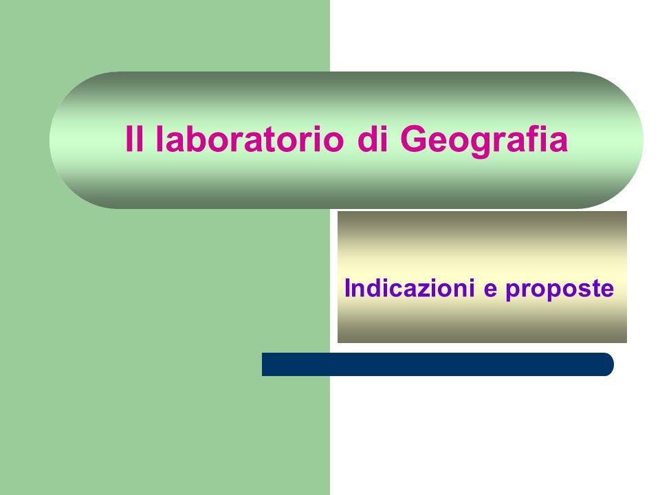 Il laboratorio di Geografia