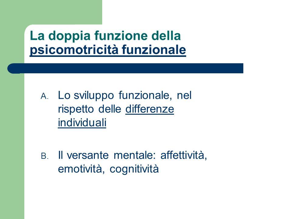 La doppia funzione della psicomotricità funzionale