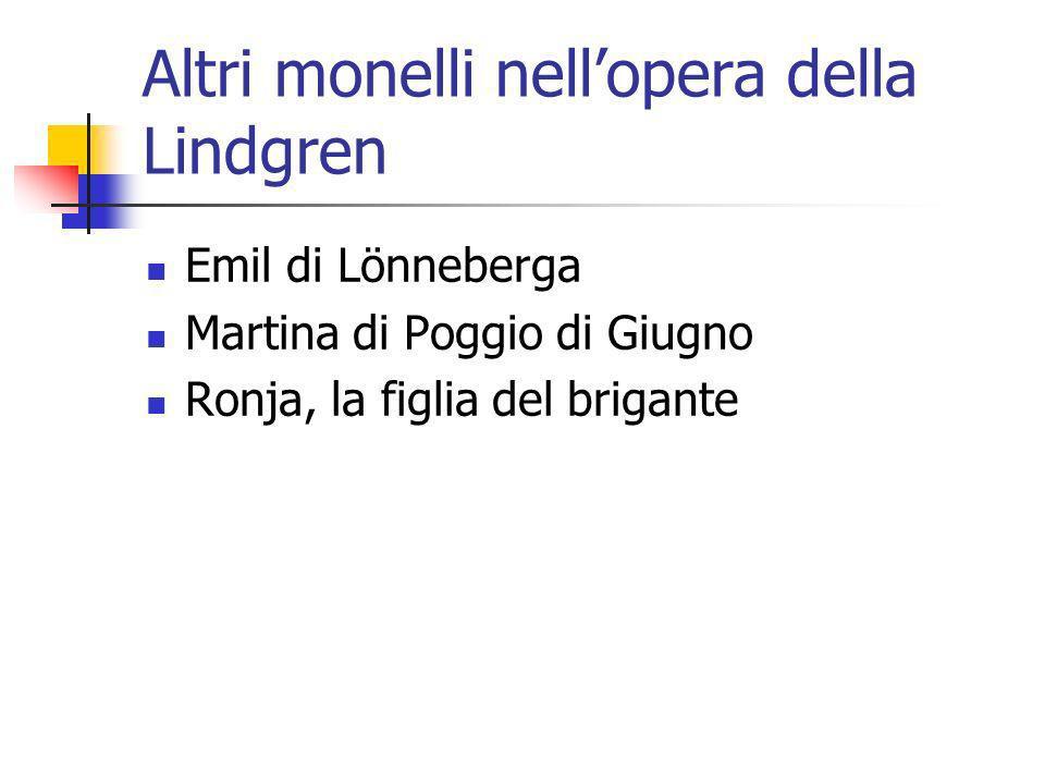 Altri monelli nell'opera della Lindgren