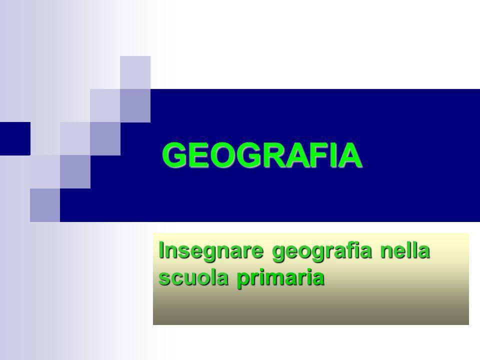 Insegnare geografia nella scuola primaria