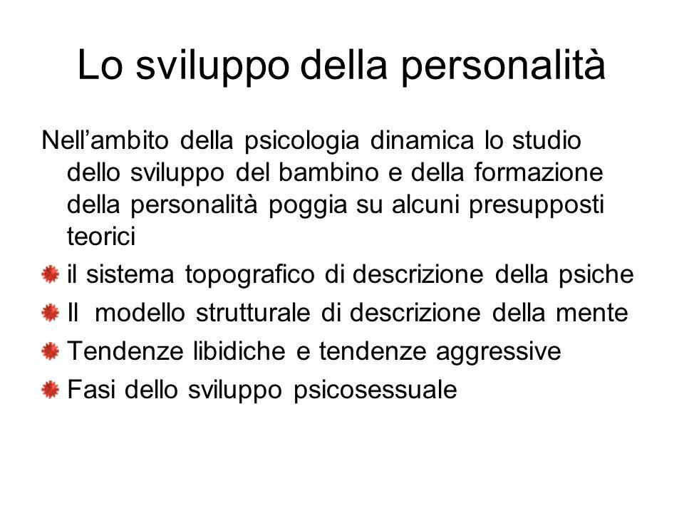 Lo sviluppo della personalità