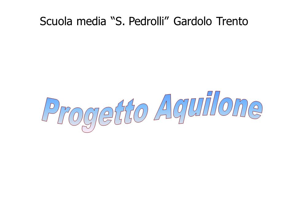 Scuola media S. Pedrolli Gardolo Trento