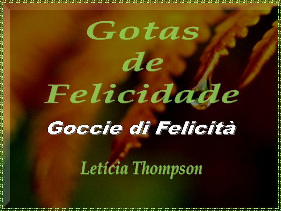 Gotas de Felicidade Goccie di Felicità Letícia Thompson
