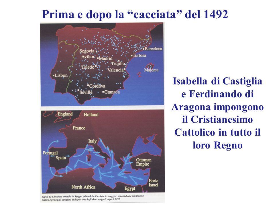 Prima e dopo la cacciata del 1492