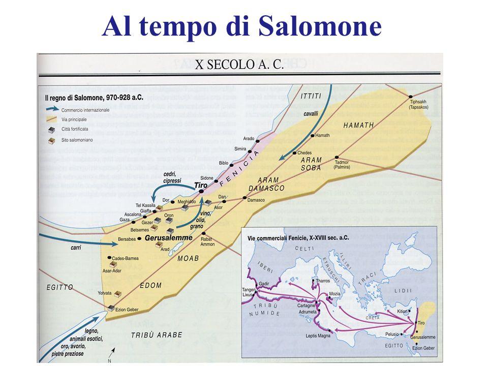 Al tempo di Salomone