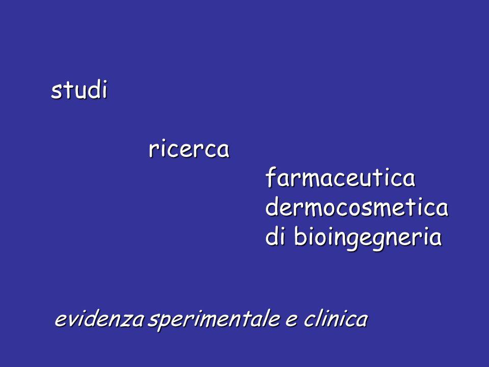 ricerca farmaceutica dermocosmetica di bioingegneria