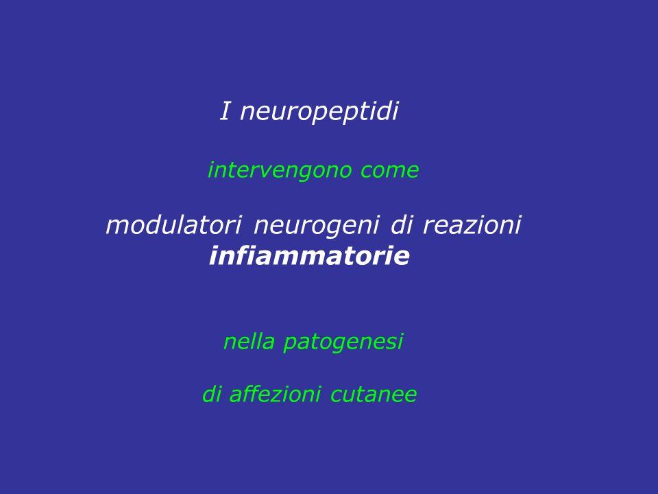 modulatori neurogeni di reazioni
