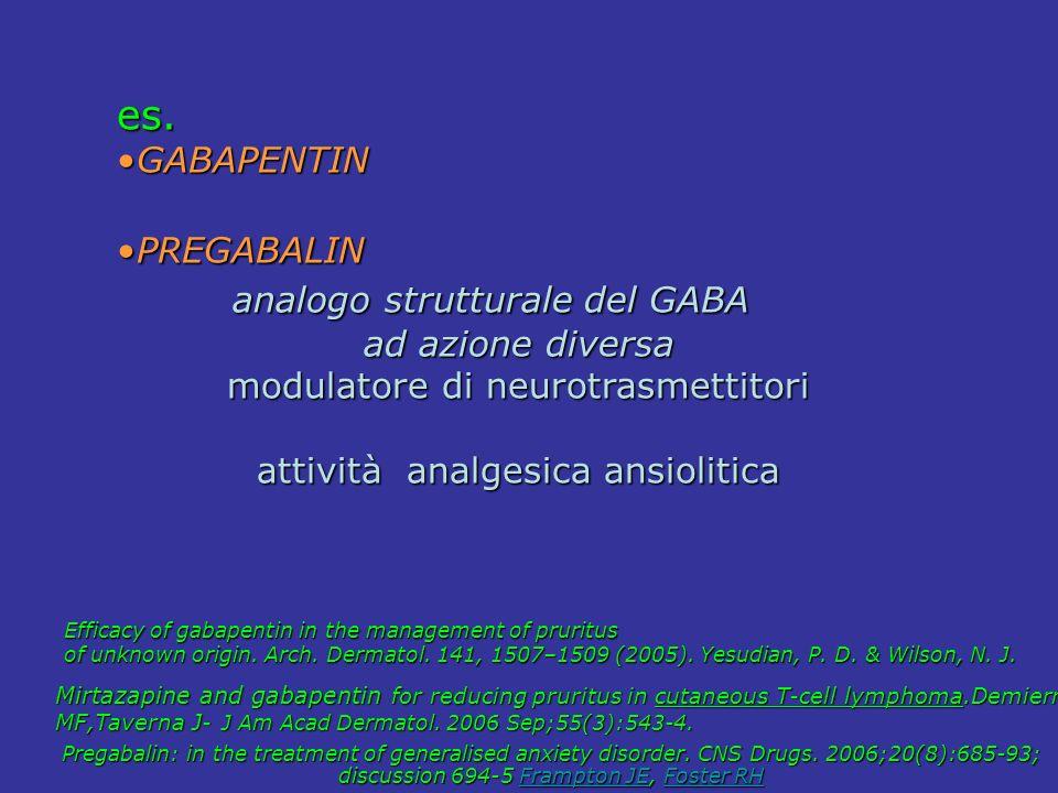 analogo strutturale del GABA
