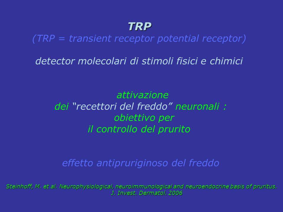 TRP (TRP = transient receptor potential receptor)