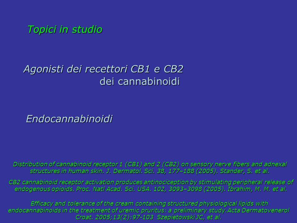 Agonisti dei recettori CB1 e CB2