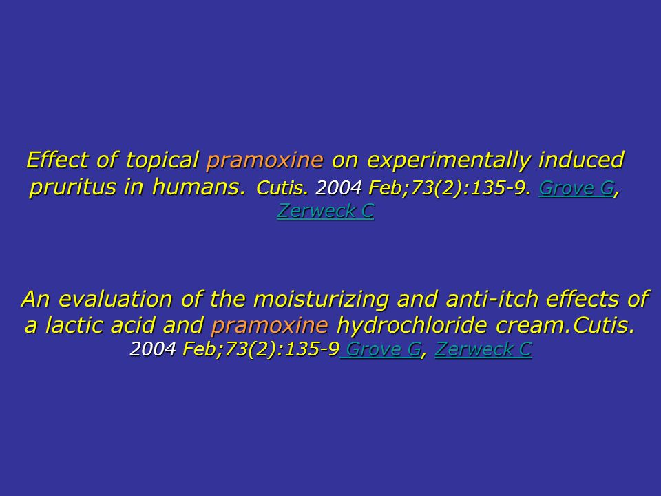 An evaluation of the moisturizing and anti-itch effects of