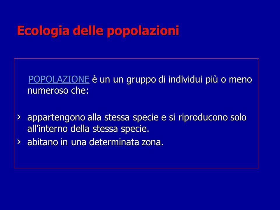 Ecologia delle popolazioni