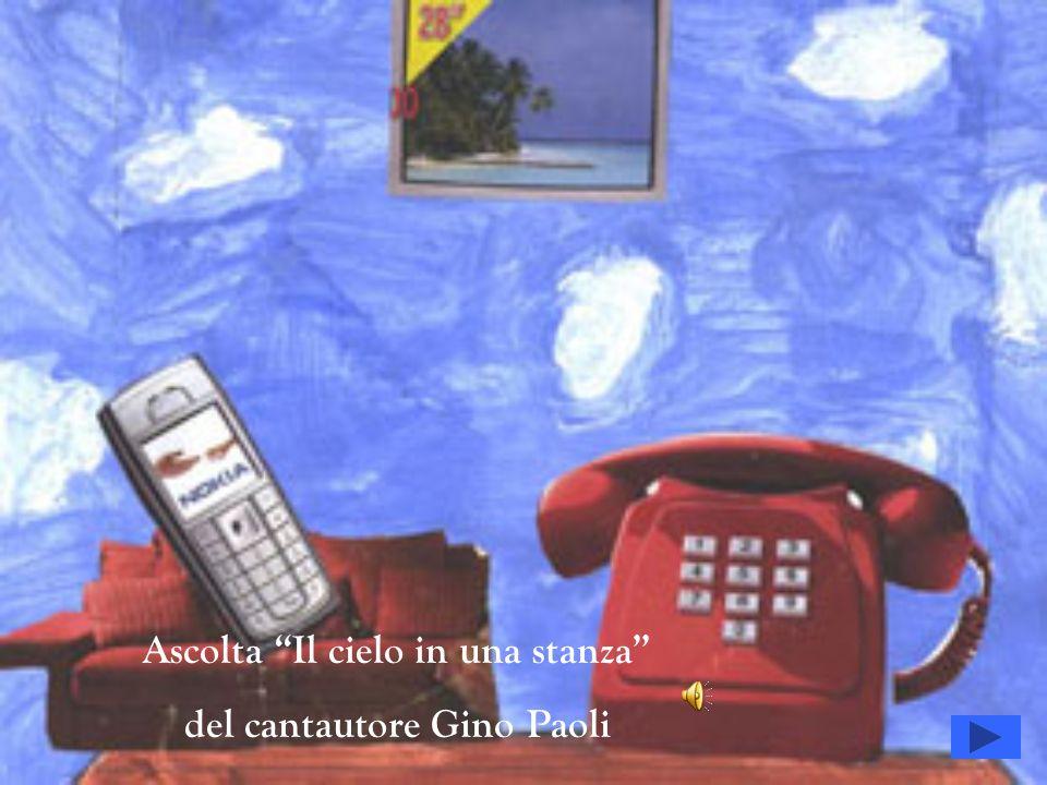 Ascolta Il cielo in una stanza del cantautore Gino Paoli