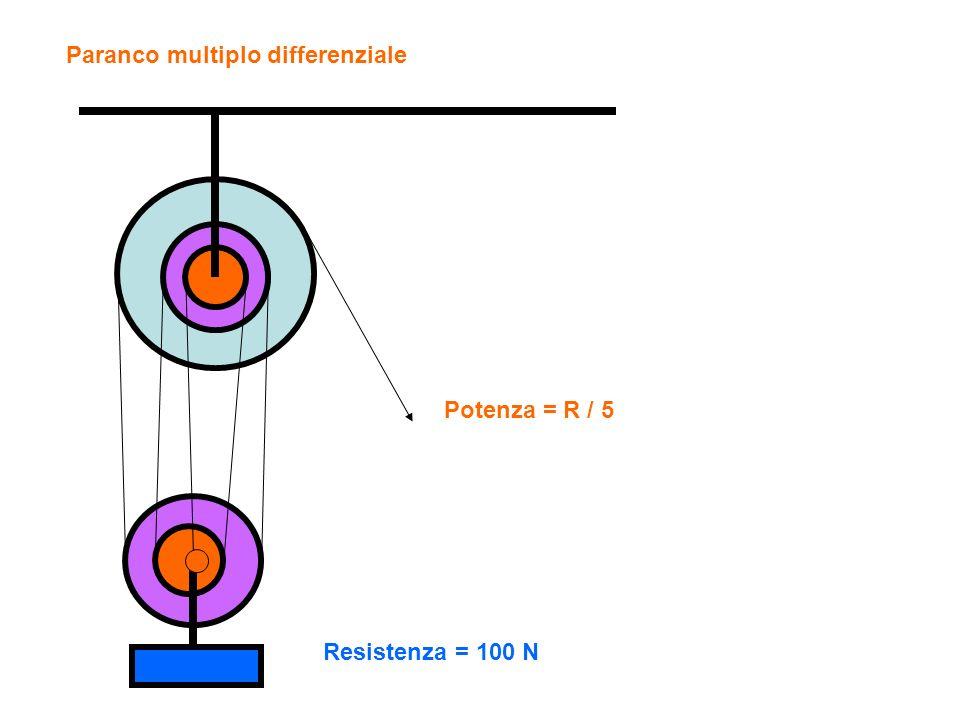 Paranco multiplo differenziale