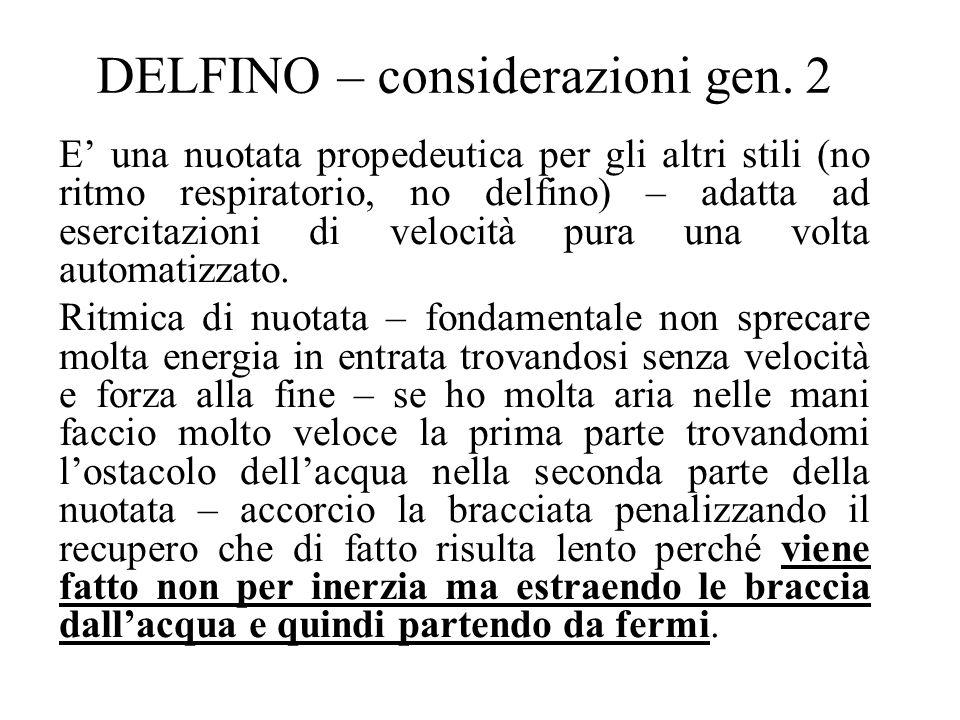 DELFINO – considerazioni gen. 2