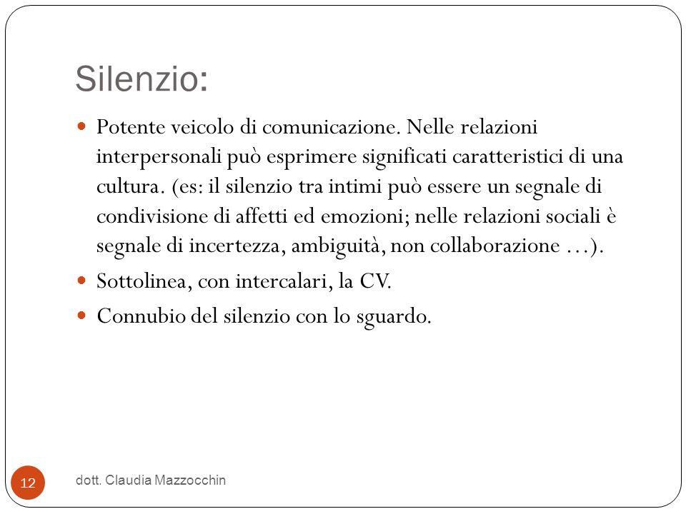 Silenzio: