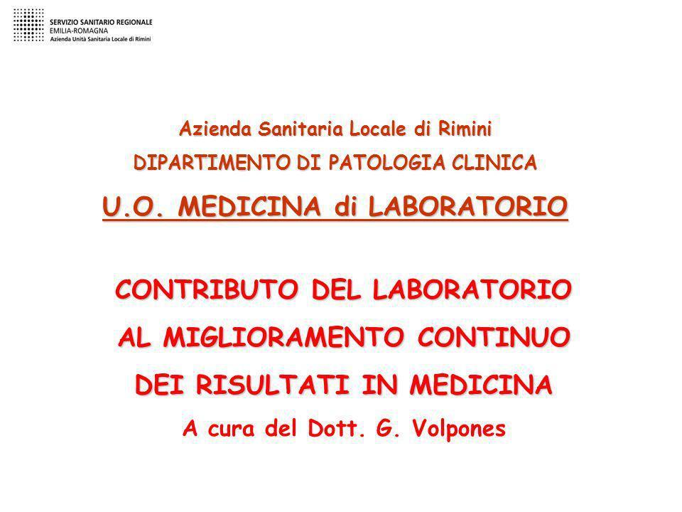 U.O. MEDICINA di LABORATORIO