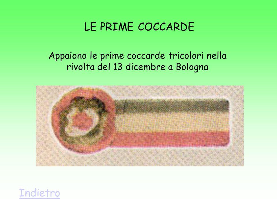 LE PRIME COCCARDE Indietro