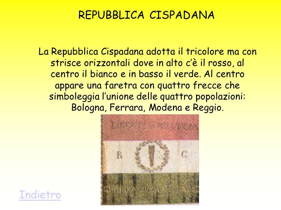 REPUBBLICA CISPADANA Indietro