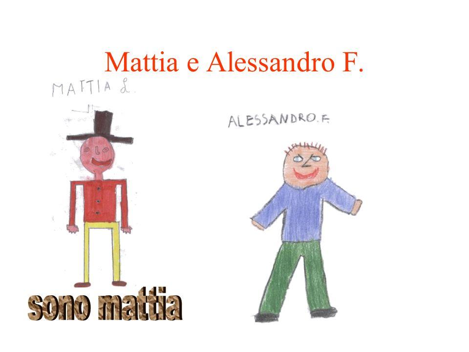 Mattia e Alessandro F. sono mattia