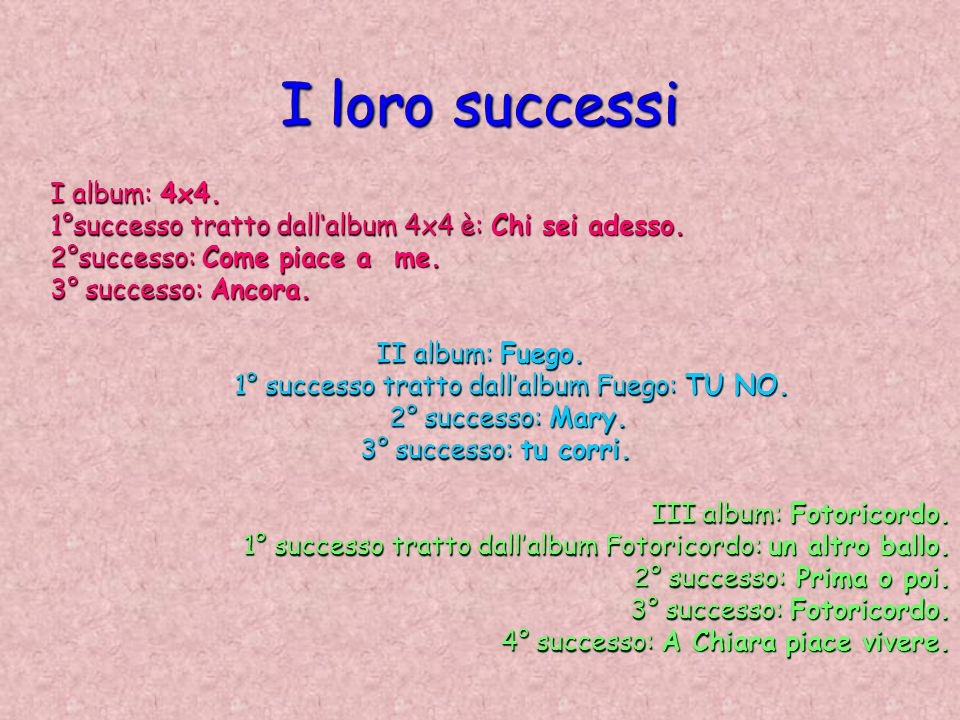 1° successo tratto dall'album Fuego: TU NO.