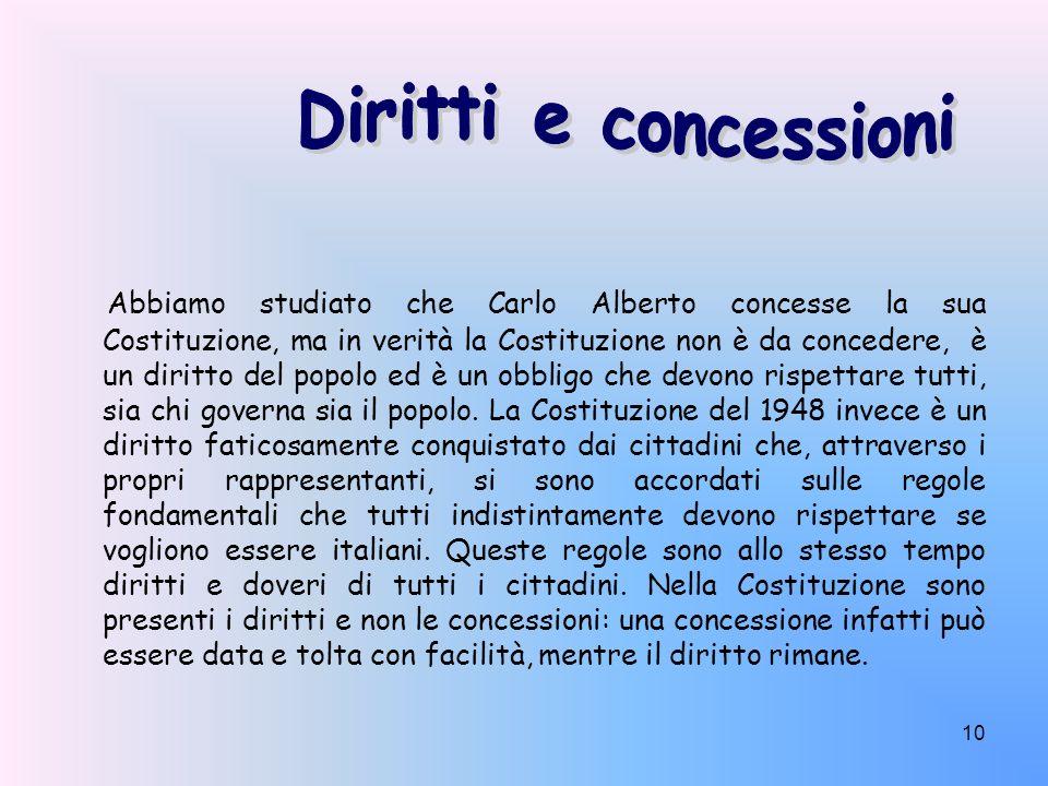 Diritti e concessioni