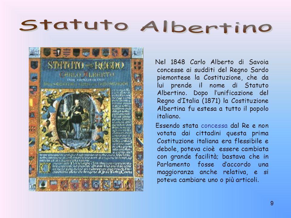 Statuto Albertino
