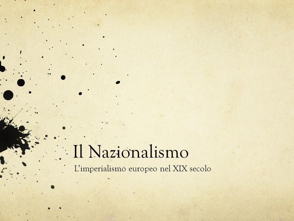 L'imperialismo europeo nel XIX secolo