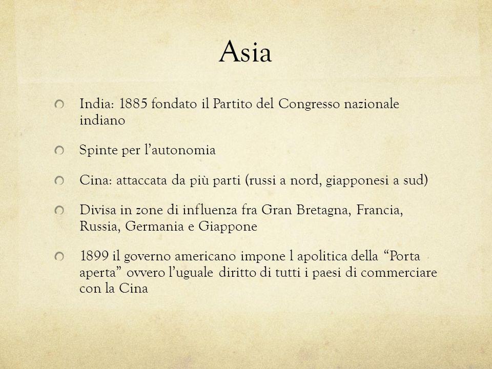 Asia India: 1885 fondato il Partito del Congresso nazionale indiano