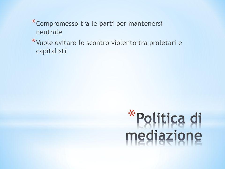 Politica di mediazione