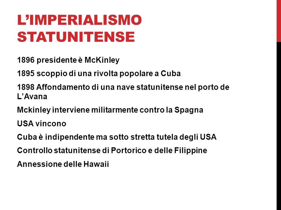 L'imperialismo statunitense