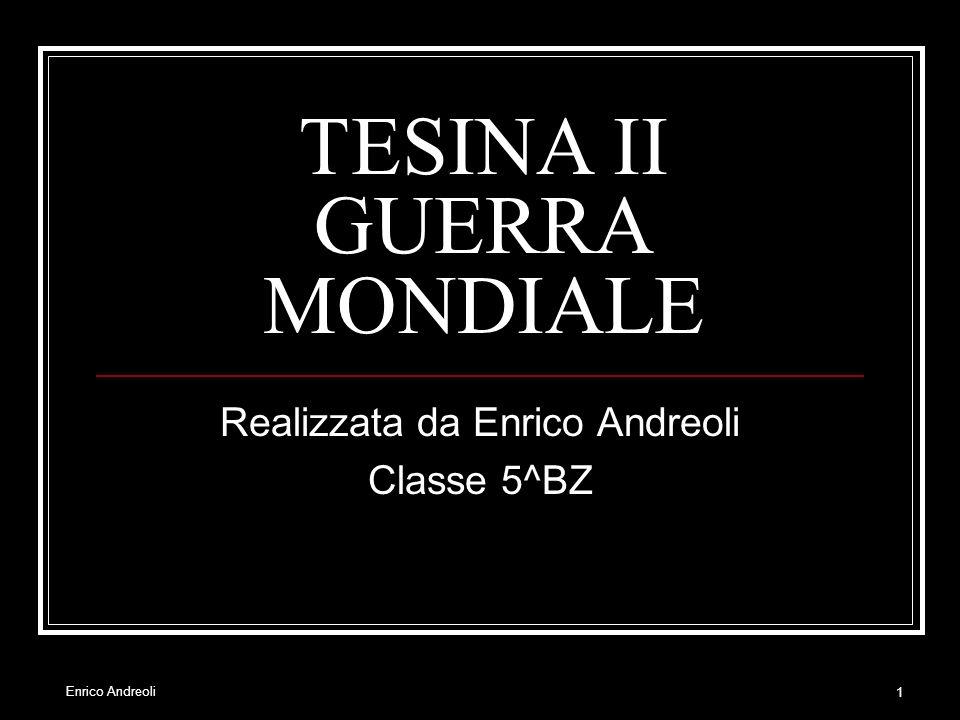 TESINA II GUERRA MONDIALE