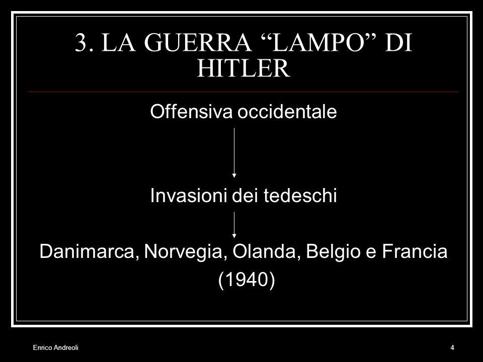 3. LA GUERRA LAMPO DI HITLER