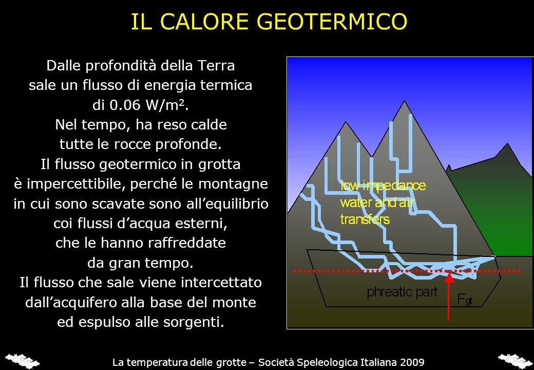 IL CALORE GEOTERMICO Dalle profondità della Terra