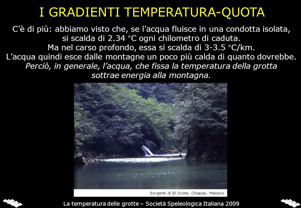 I GRADIENTI TEMPERATURA-QUOTA
