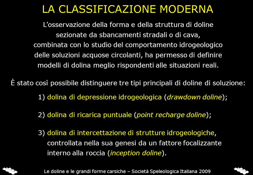 LA CLASSIFICAZIONE MODERNA