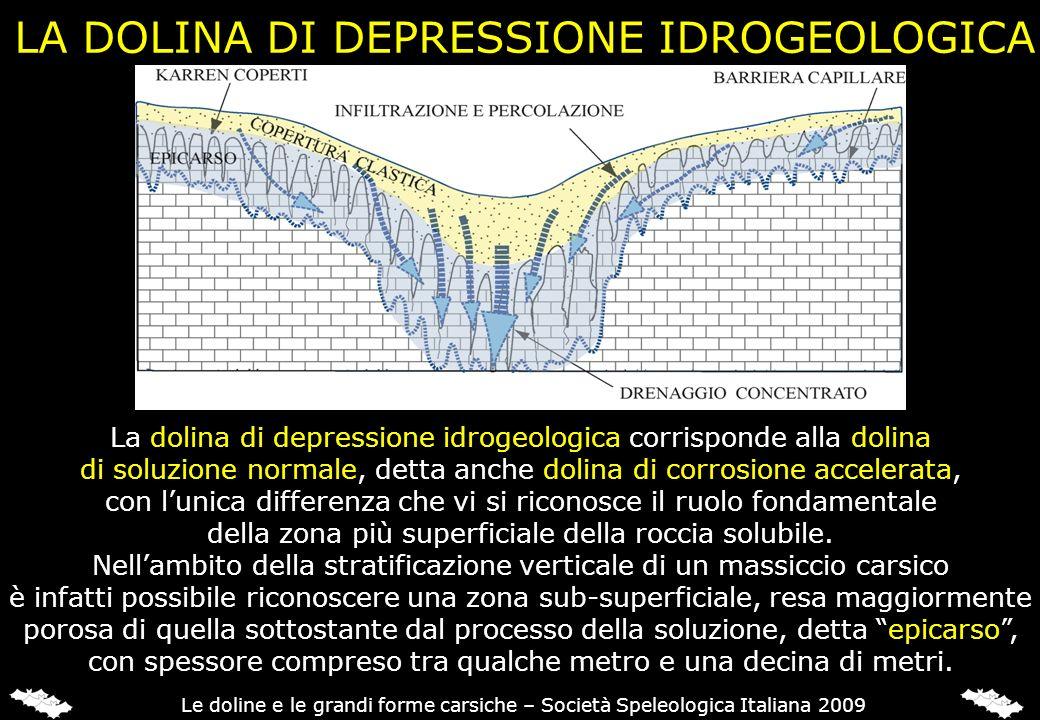 LA DOLINA DI DEPRESSIONE IDROGEOLOGICA