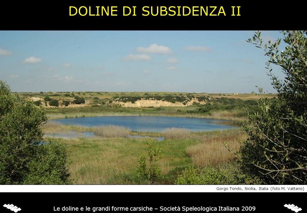 DOLINE DI SUBSIDENZA II